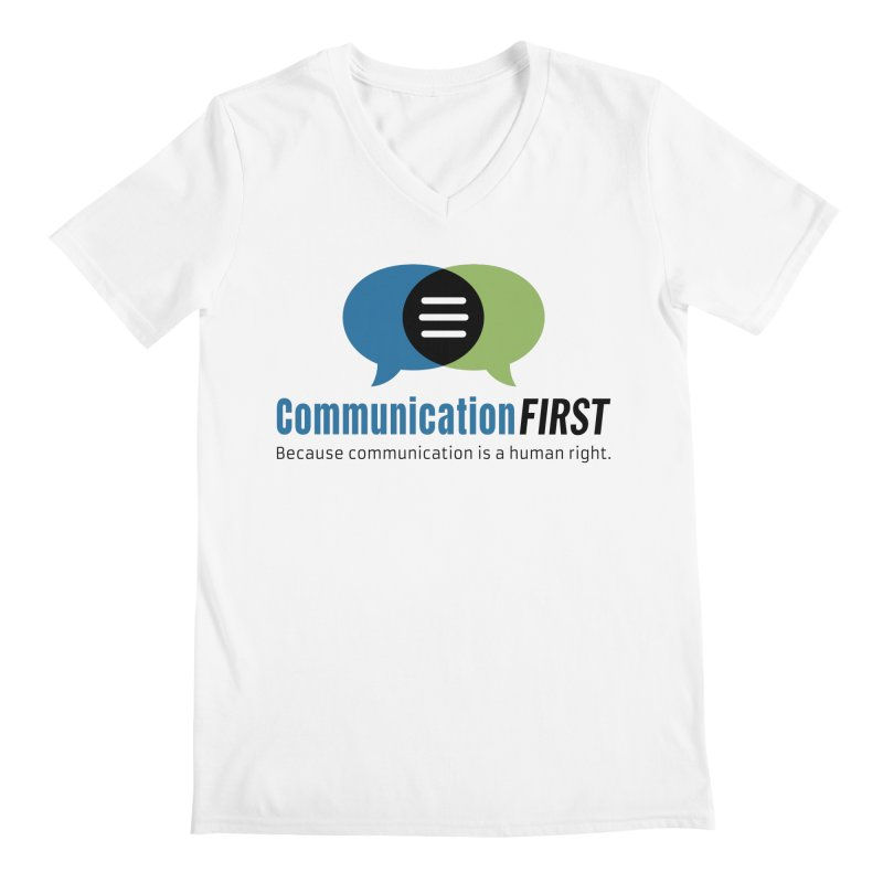Logo Original Men's V-Neck by CommunicationFIRST's Artist Shop