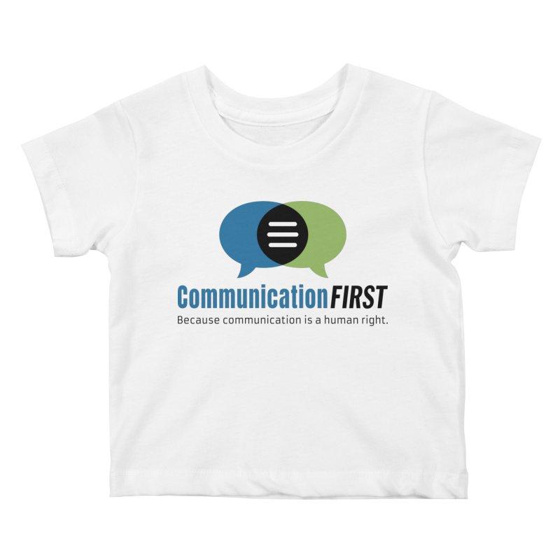 Logo Original Kids Baby T-Shirt by CommunicationFIRST's Artist Shop