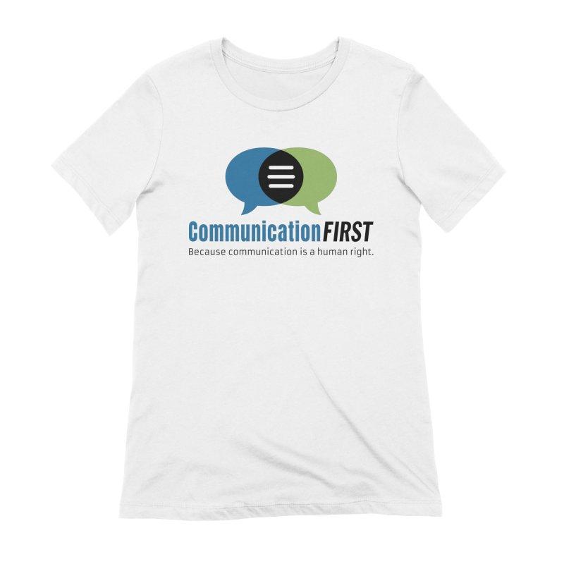 Logo Original Women's T-Shirt by CommunicationFIRST's Artist Shop