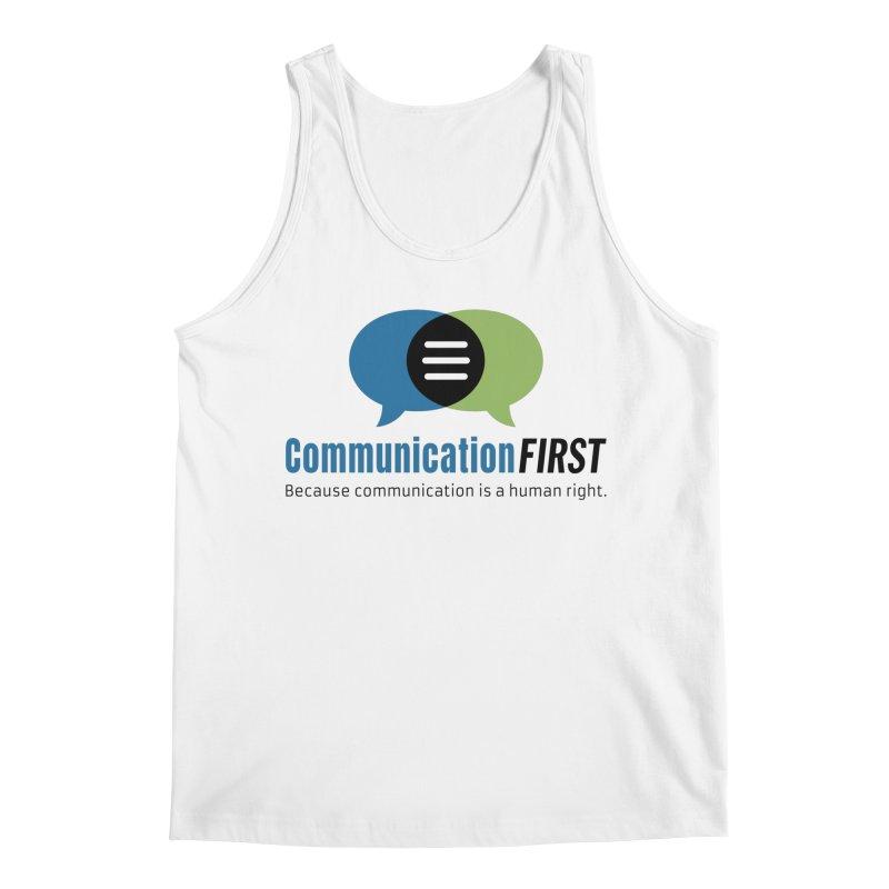 Logo Original Men's Tank by CommunicationFIRST's Artist Shop
