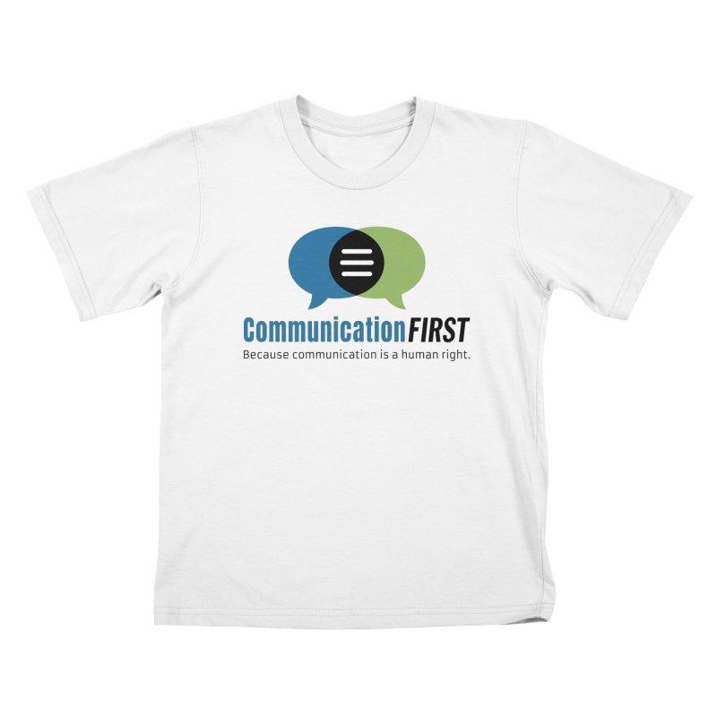 Logo Original Kids T-Shirt by CommunicationFIRST's Artist Shop