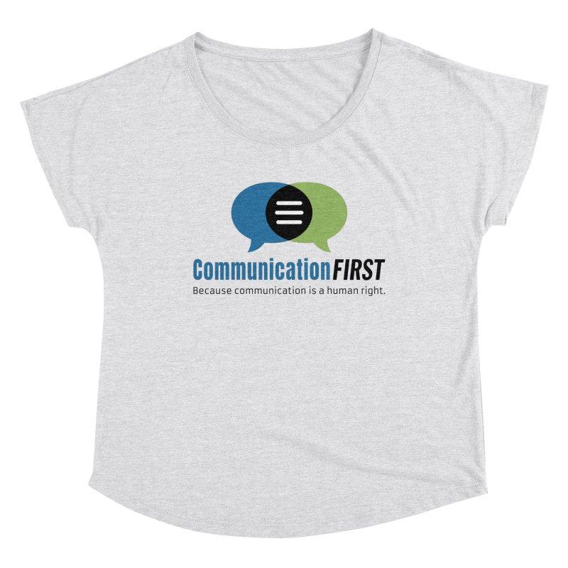 Logo Original Women's Scoop Neck by CommunicationFIRST's Artist Shop