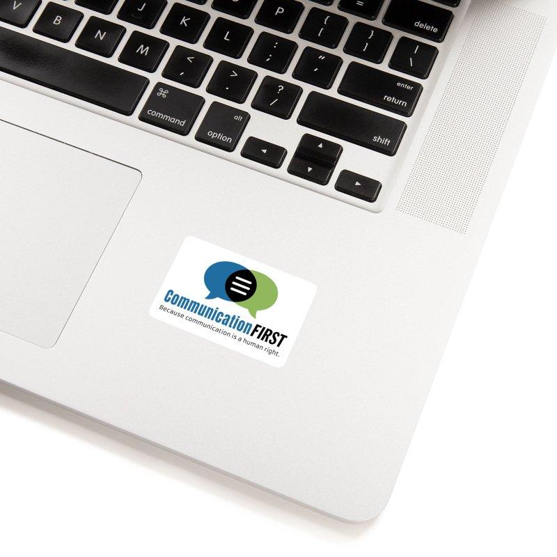 Logo Original Accessories Sticker by CommunicationFIRST's Artist Shop