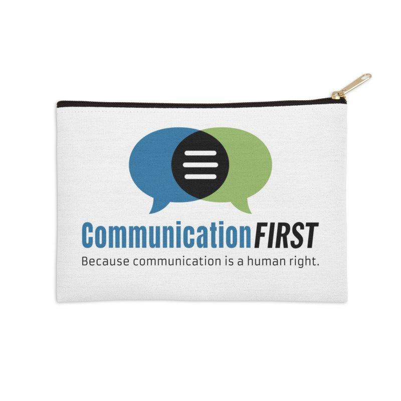Logo Original Accessories Zip Pouch by CommunicationFIRST's Artist Shop