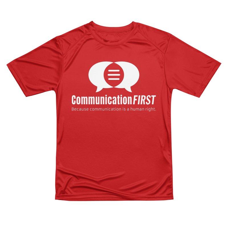 Logo White Women's T-Shirt by CommunicationFIRST's Artist Shop