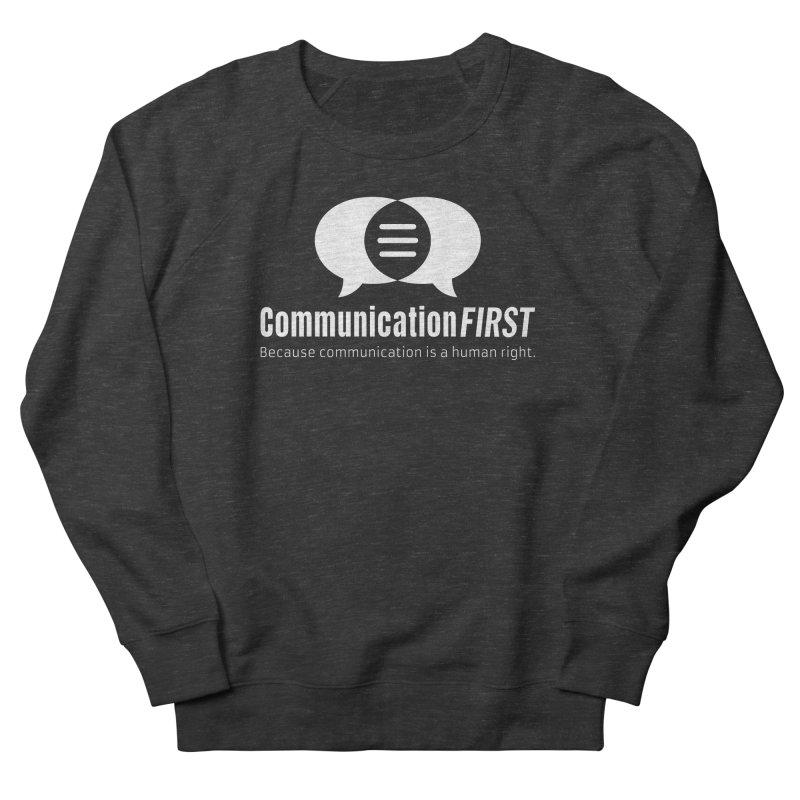 Logo White Women's Sweatshirt by CommunicationFIRST's Artist Shop