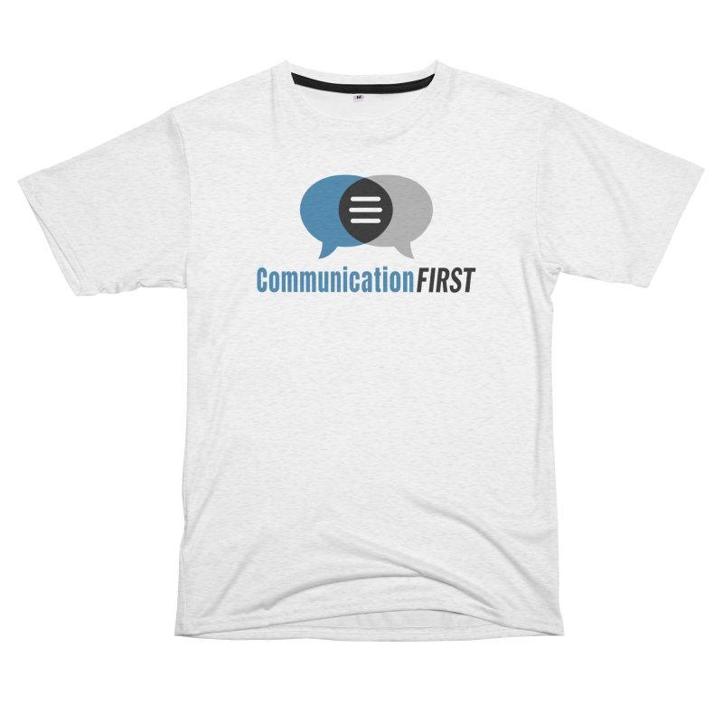 Logo Blue Men's Cut & Sew by CommunicationFIRST's Artist Shop