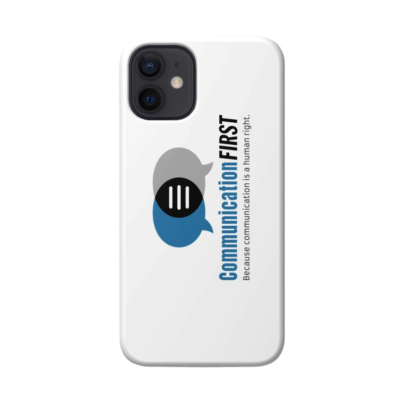 Logo Blue Accessories Phone Case by CommunicationFIRST's Artist Shop