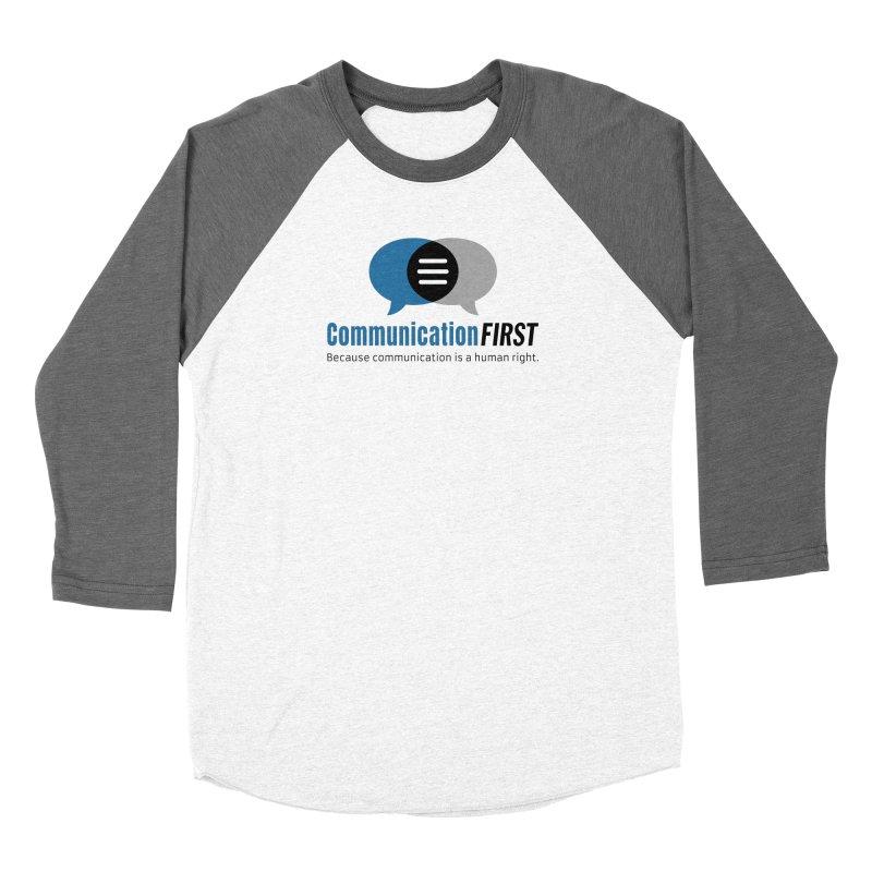 Logo Blue Men's Longsleeve T-Shirt by CommunicationFIRST's Artist Shop