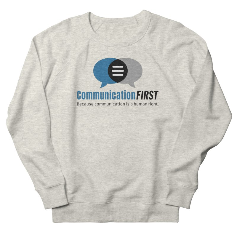 Logo Blue Women's Sweatshirt by CommunicationFIRST's Artist Shop