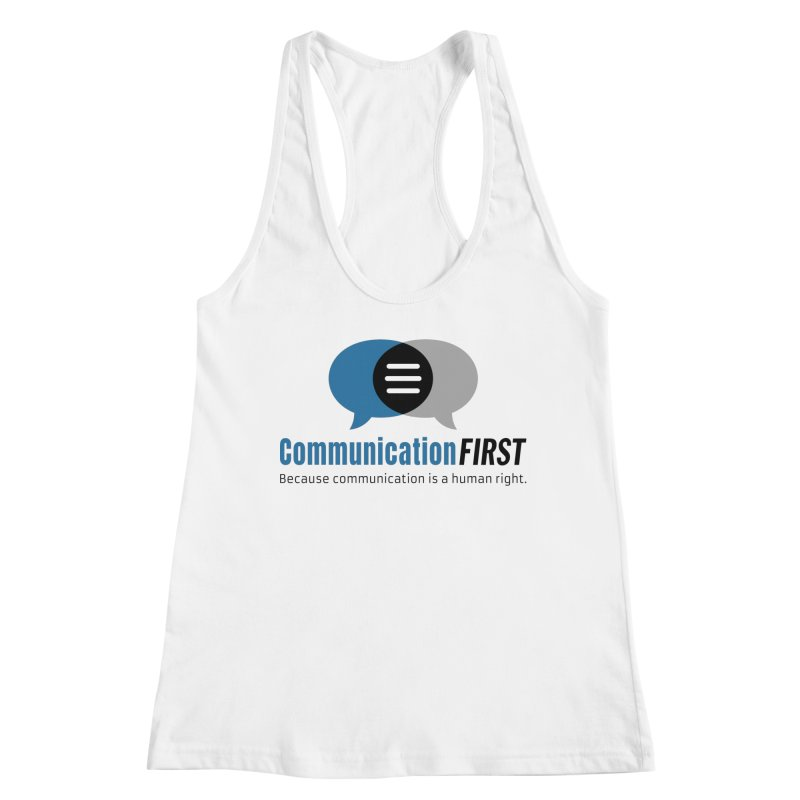 Logo Blue Women's Tank by CommunicationFIRST's Artist Shop