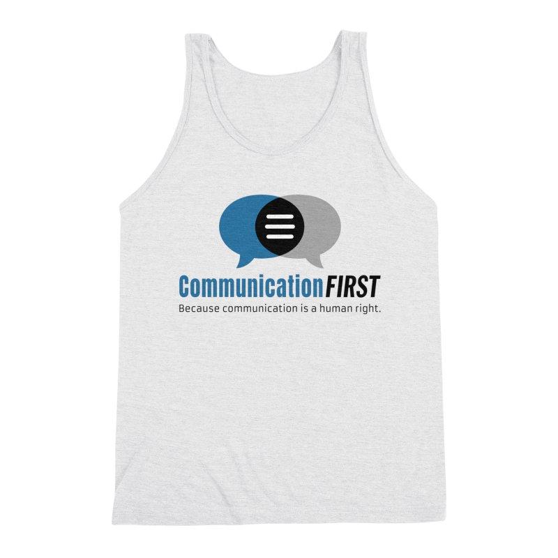 Logo Blue Men's Tank by CommunicationFIRST's Artist Shop