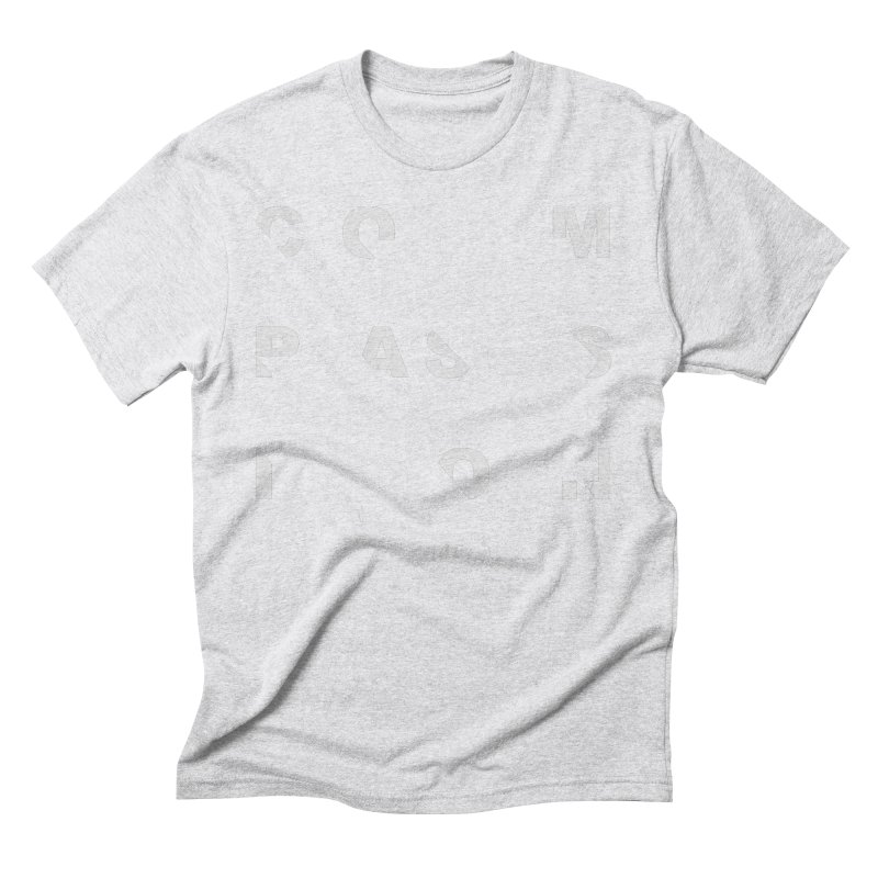 Compassion Disjointed Text Men's Triblend T-Shirt by compassion's Artist Shop