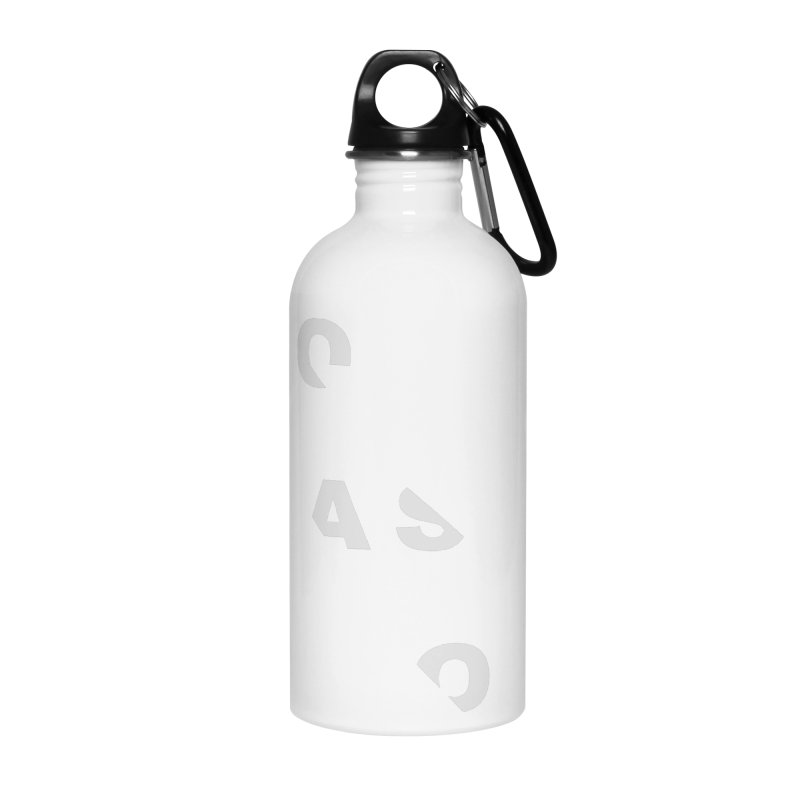 Compassion Disjointed Text Accessories Water Bottle by compassion's Artist Shop