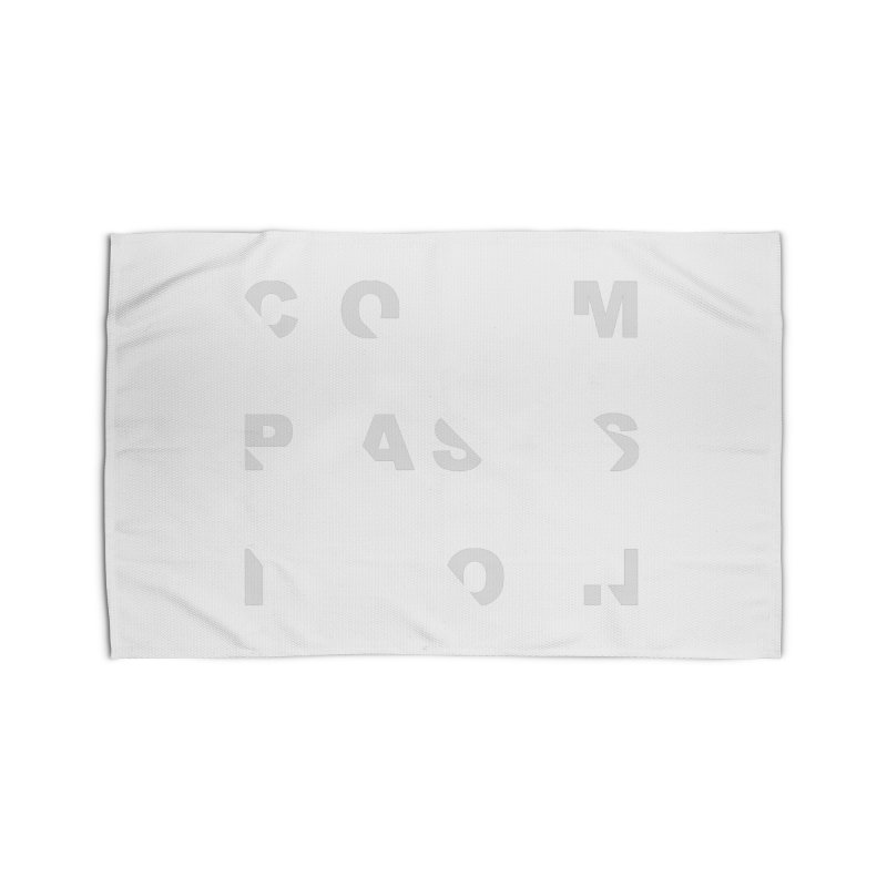 Compassion Disjointed Text Home Rug by compassion's Artist Shop