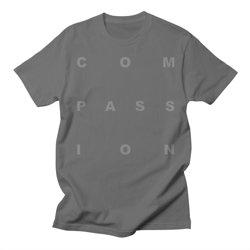 Compassion Block Text Men's T-Shirt by compassion's Artist Shop