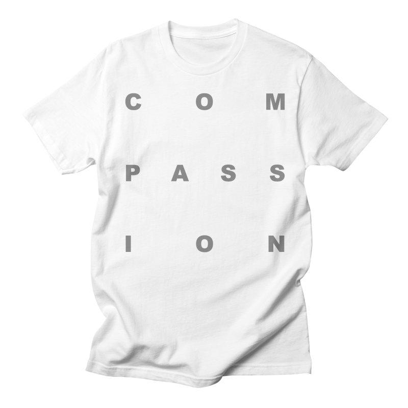 Compassion Block Text Women's Regular Unisex T-Shirt by compassion's Artist Shop