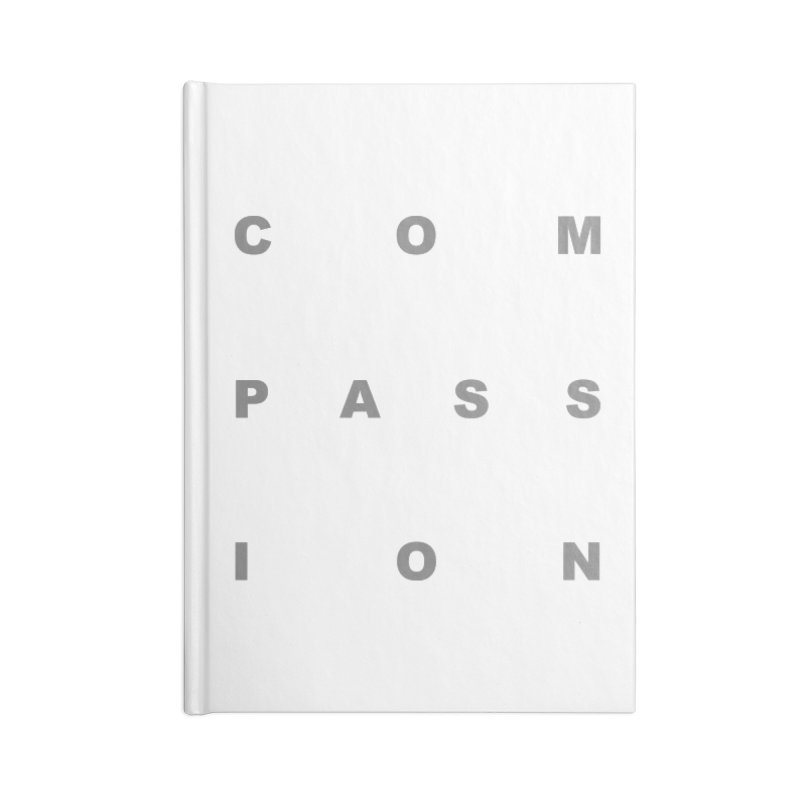 Compassion Block Text Accessories Notebook by compassion's Artist Shop