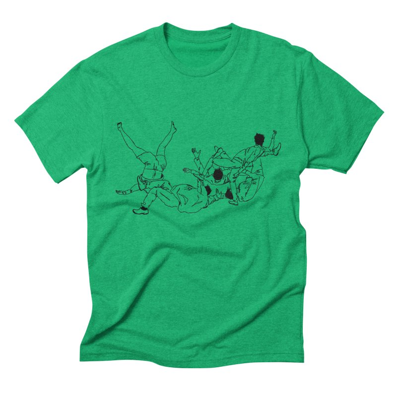 Five Paupers Men's Triblend T-shirt by compostpile's Artist Shop