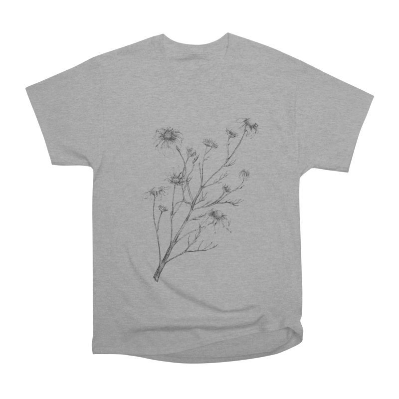 Wilted Chamomile Men's Heavyweight T-Shirt by compostpile's Artist Shop