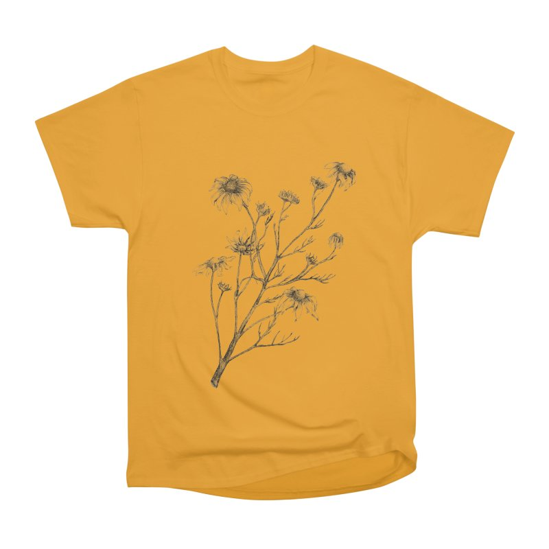 Wilted Chamomile Men's Classic T-Shirt by compostpile's Artist Shop