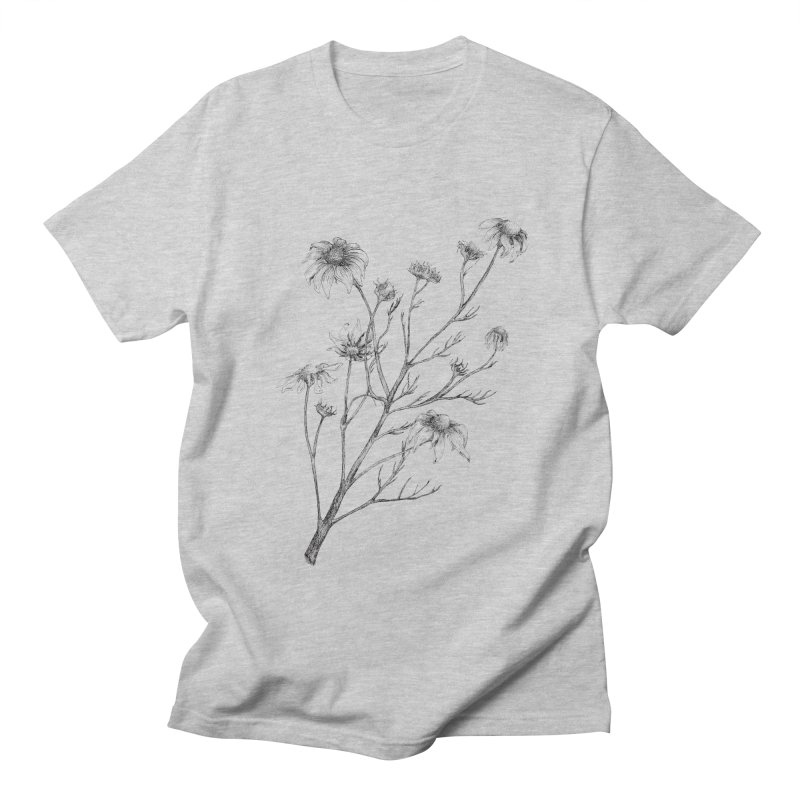 Wilted Chamomile Men's T-Shirt by compostpile's Artist Shop