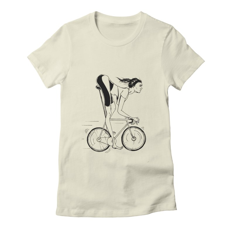 Untitled Women's Fitted T-Shirt by compostpile's Artist Shop