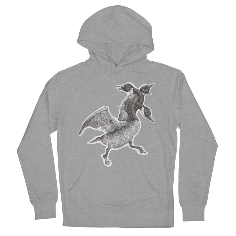 Knotted Gander (Apparel)  Women's Pullover Hoody by compostpile's Artist Shop