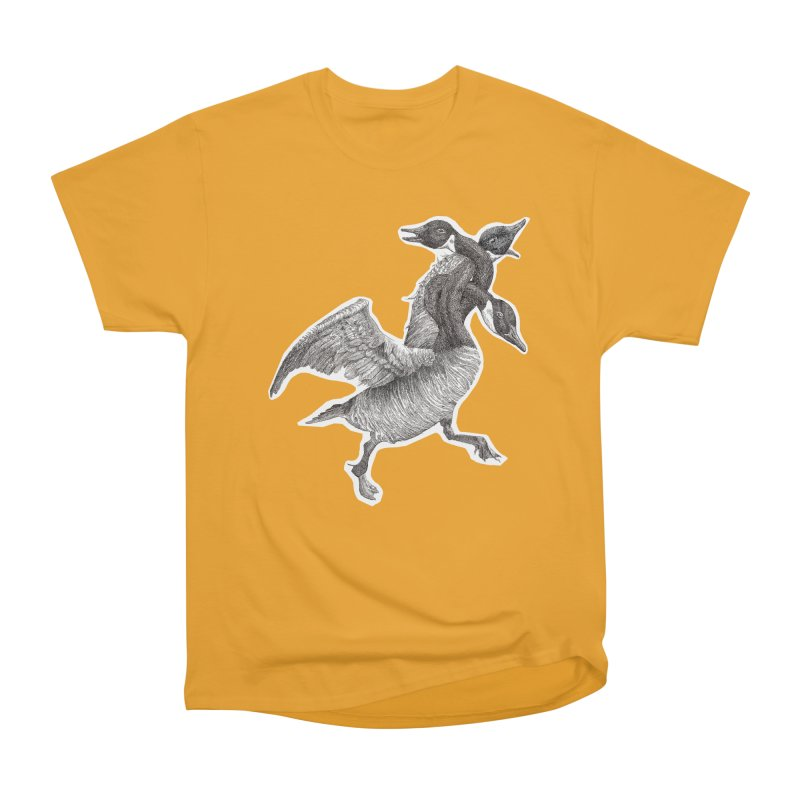 Knotted Gander (Apparel)  Men's Heavyweight T-Shirt by compostpile's Artist Shop