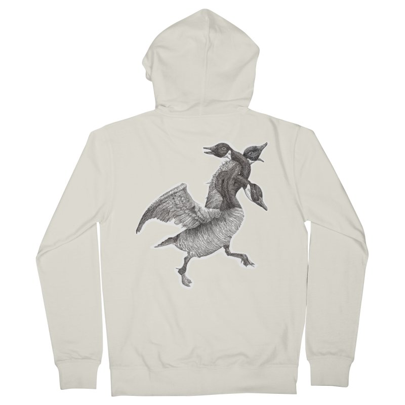 Knotted Gander (Apparel)  Women's Zip-Up Hoody by compostpile's Artist Shop