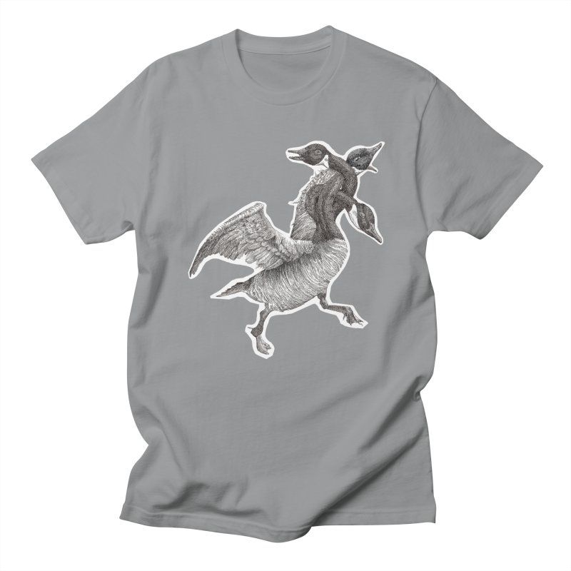 Knotted Gander (Apparel)  Women's Unisex T-Shirt by compostpile's Artist Shop