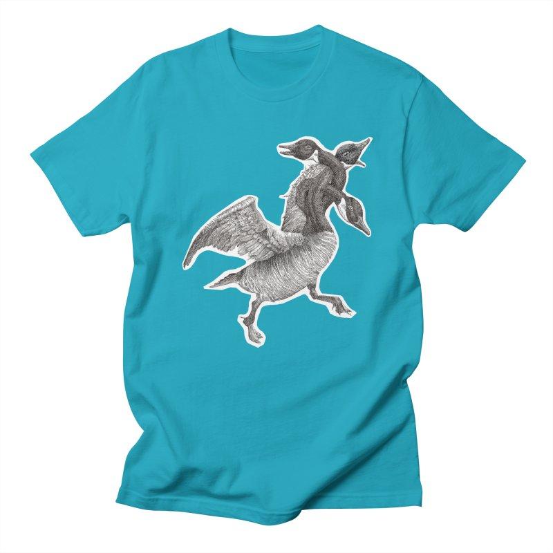 Knotted Gander (Apparel)  Women's Unisex T-Shirt by compostpile's Artist Shop