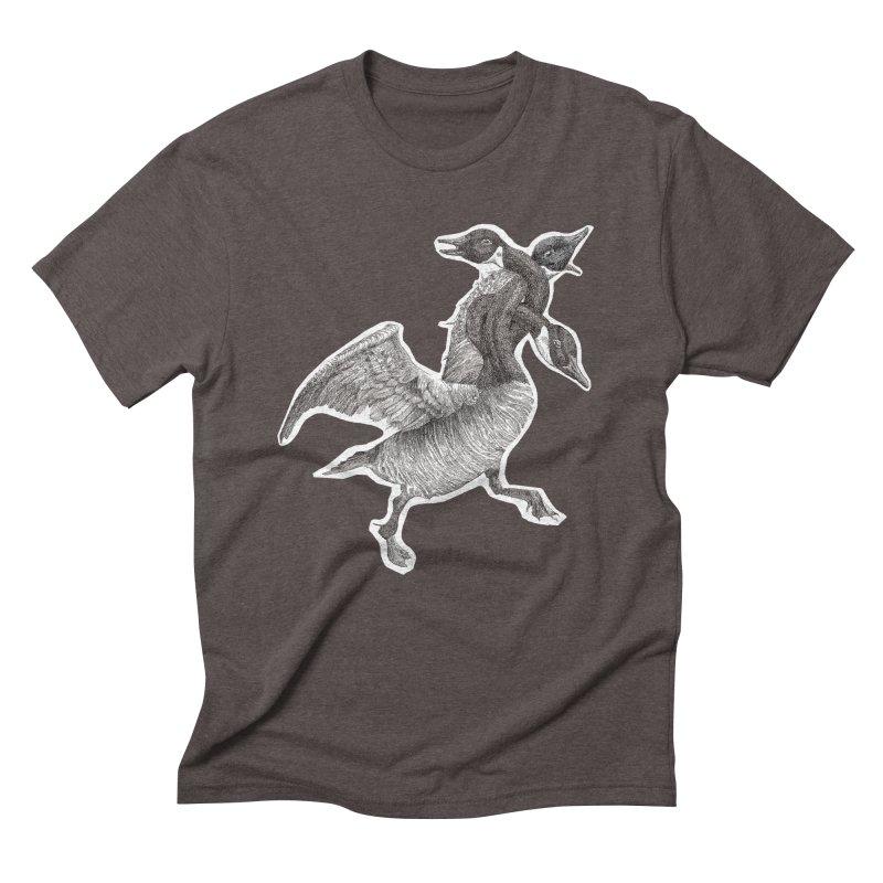 Knotted Gander (Apparel)  Men's Triblend T-Shirt by compostpile's Artist Shop
