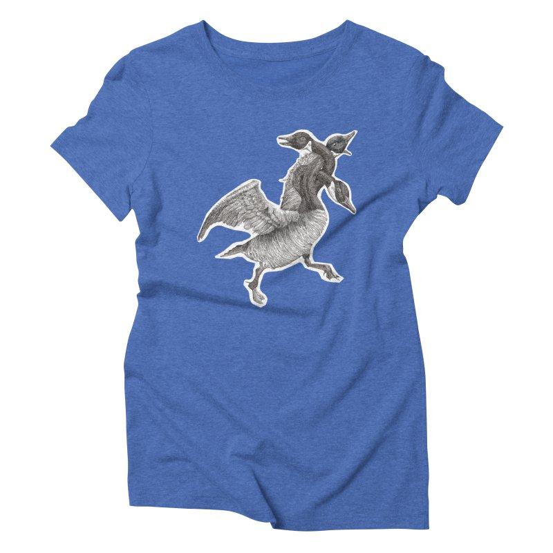 Knotted Gander (Apparel)  Women's Triblend T-Shirt by compostpile's Artist Shop