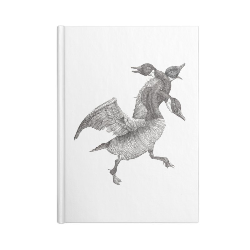 Knotted Gander (Apparel)  Accessories Notebook by compostpile's Artist Shop