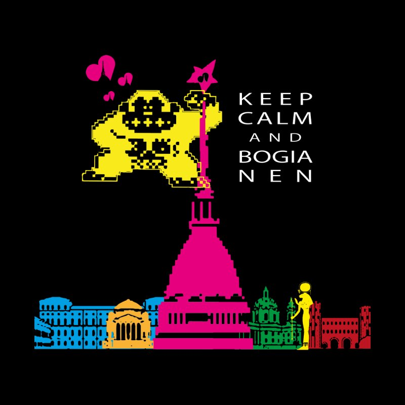 Keep Calm and Bogia Nen Men's T-Shirt by Lospaccio Conamole