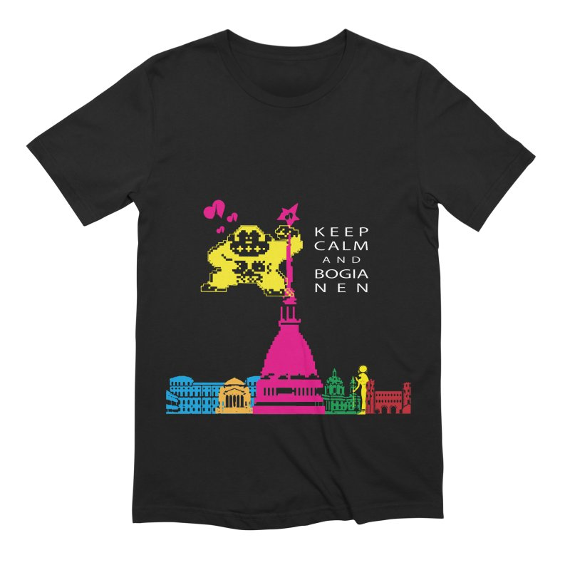 Keep Calm and Bogia Nen Men's Extra Soft T-Shirt by Lospaccio Conamole