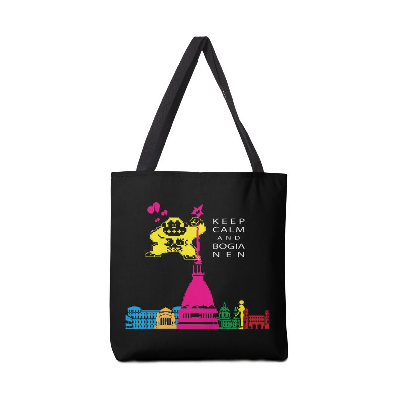 Keep Calm and Bogia Nen Accessories Tote Bag Bag by Lospaccio Conamole