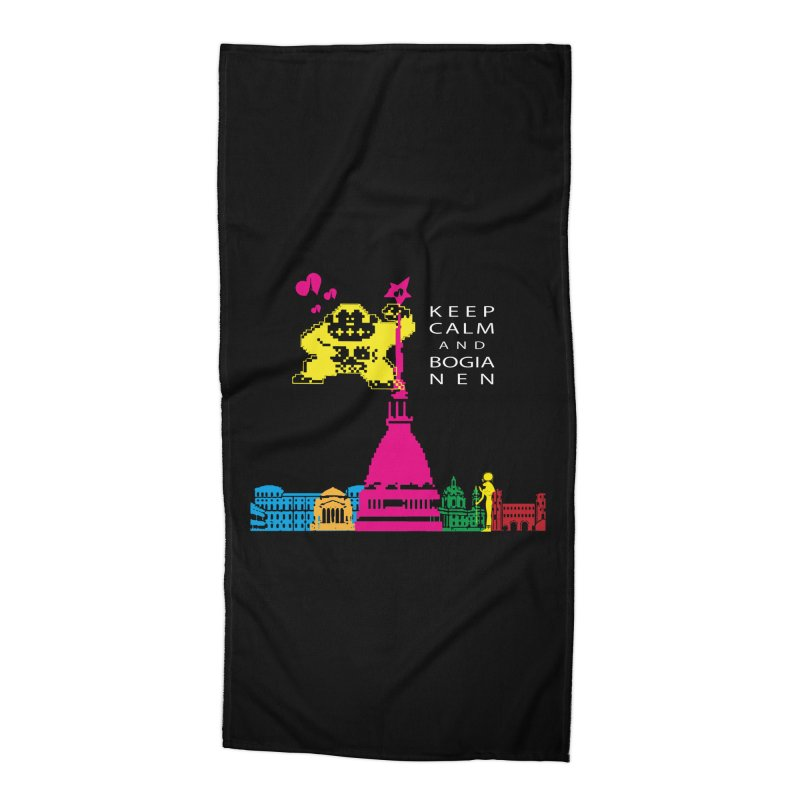Keep Calm and Bogia Nen Accessories Beach Towel by Lospaccio Conamole