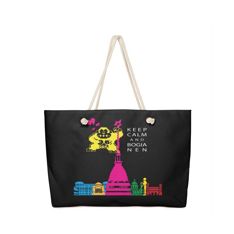 Keep Calm and Bogia Nen Accessories Bag by Lospaccio Conamole