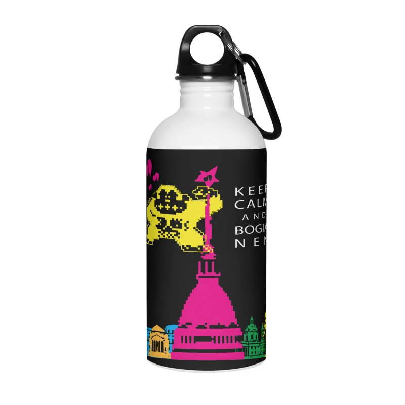 Keep Calm and Bogia Nen Accessories Water Bottle by Lospaccio Conamole