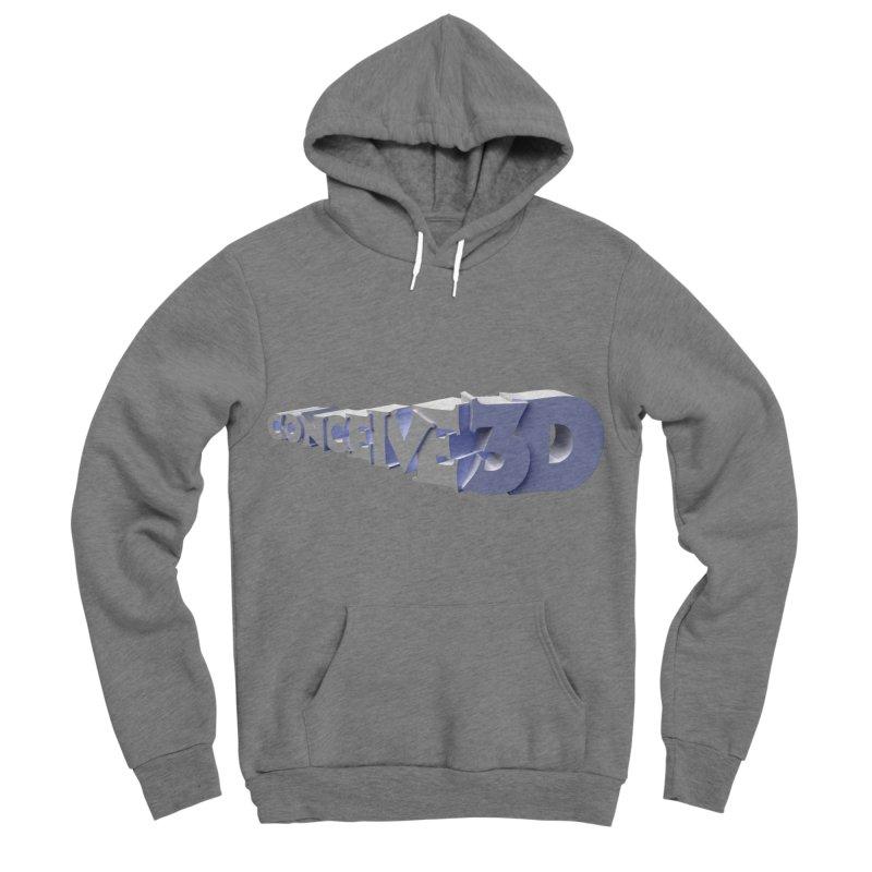 Conceive3D Men's Sponge Fleece Pullover Hoody by Conceive3D