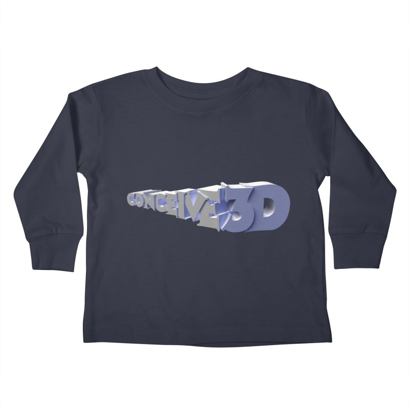 Conceive3D Kids Toddler Longsleeve T-Shirt by Conceive3D
