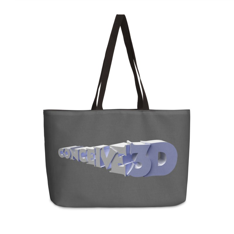 Conceive3D Accessories Weekender Bag Bag by Conceive3D