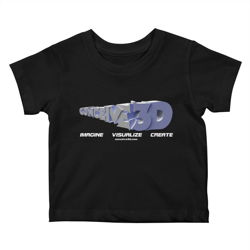 Conceive3D Kids Baby T-Shirt by Conceive3D