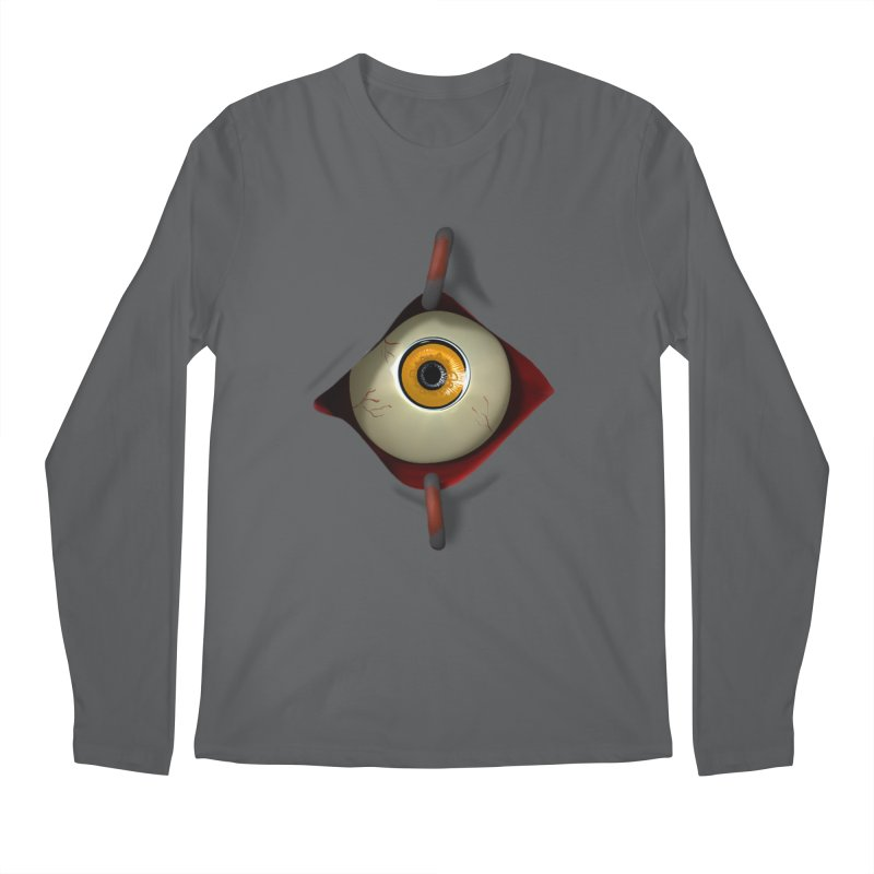 Eye See You Men's Regular Longsleeve T-Shirt by Conceive3D