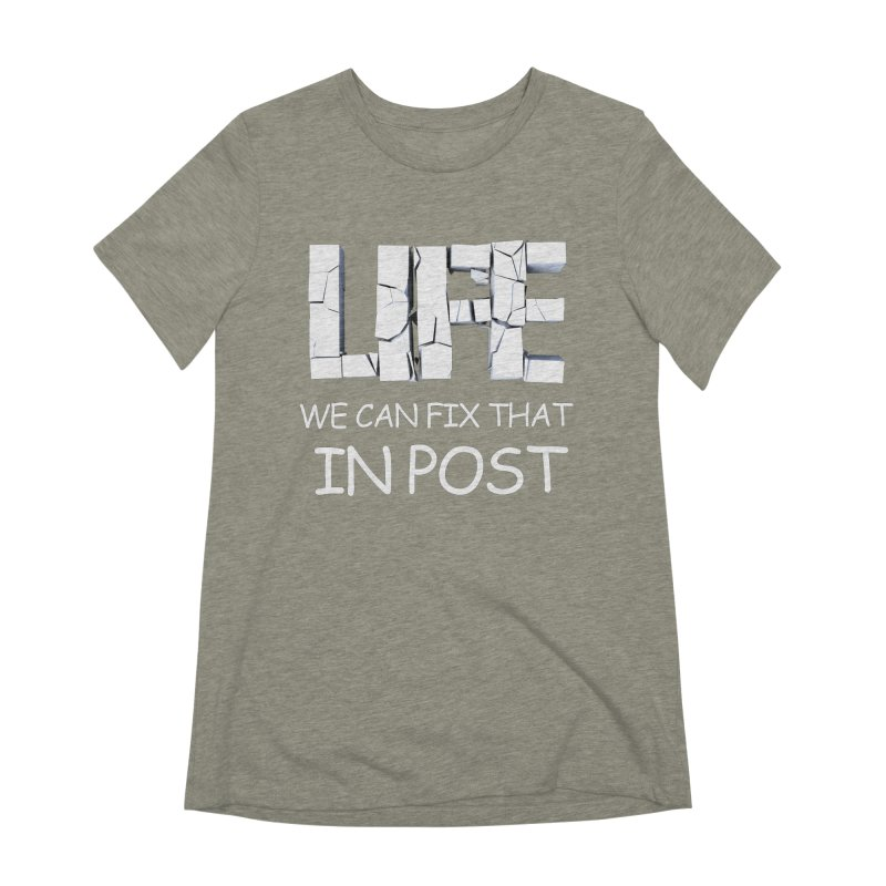 Post Life Women's Extra Soft T-Shirt by Conceive3D