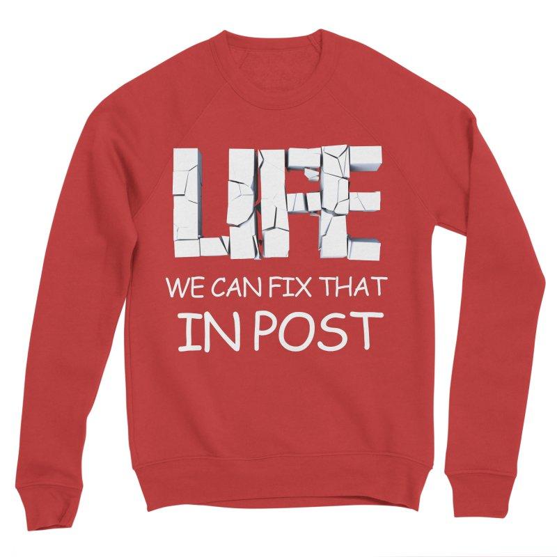 Post Life Men's Sponge Fleece Sweatshirt by Conceive3D