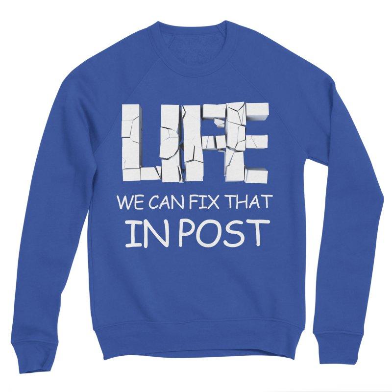 Post Life Men's Sweatshirt by Conceive3D