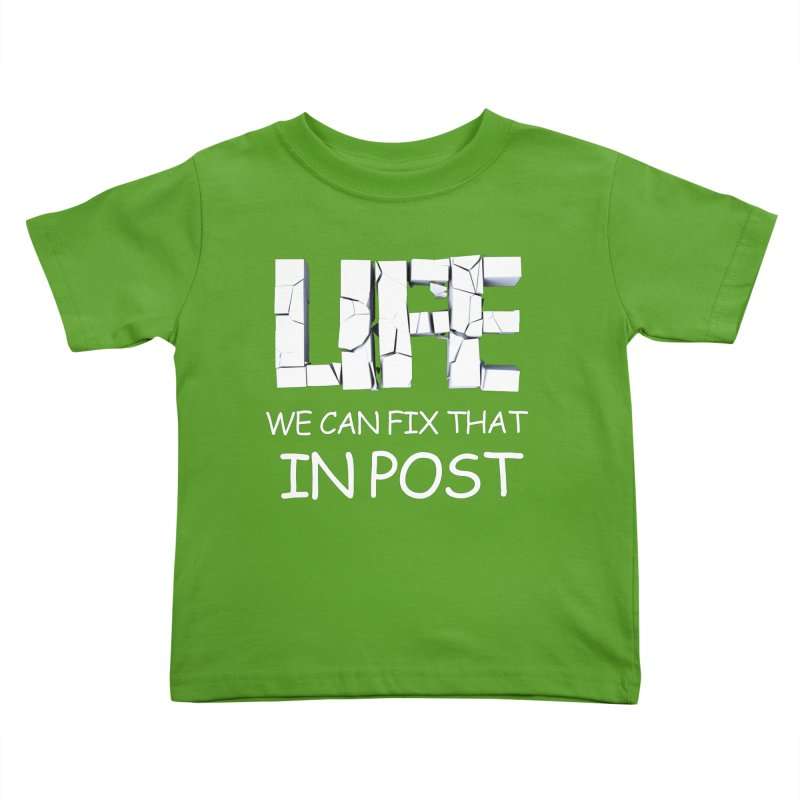 Post Life Kids Toddler T-Shirt by Conceive3D